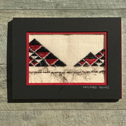 DIY Landscape Needlework Kit - Milford Sound