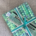 Handcrafted Stationery Set - Green