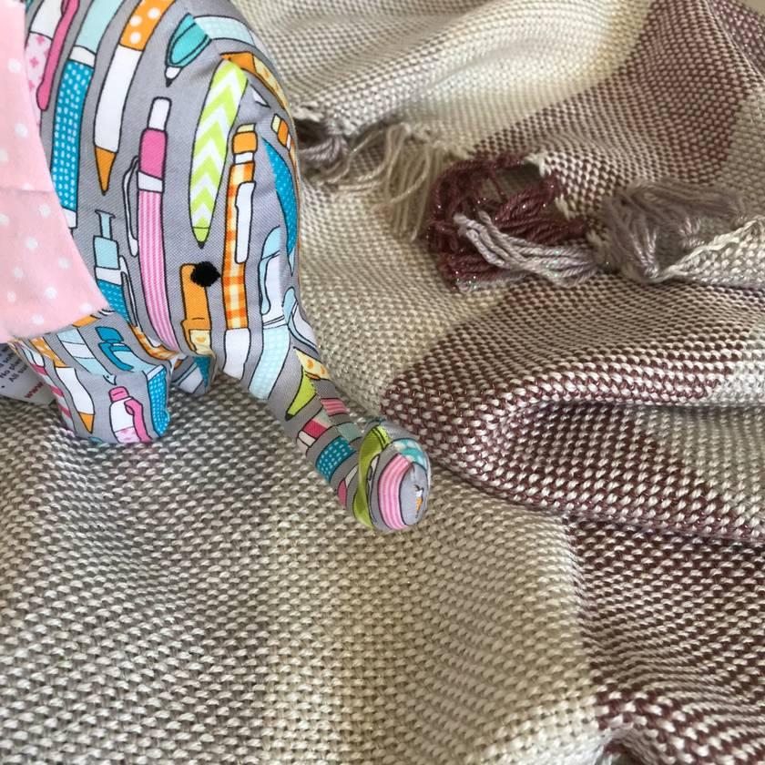 Handwoven Blanket or Cuddle Rug in Pink