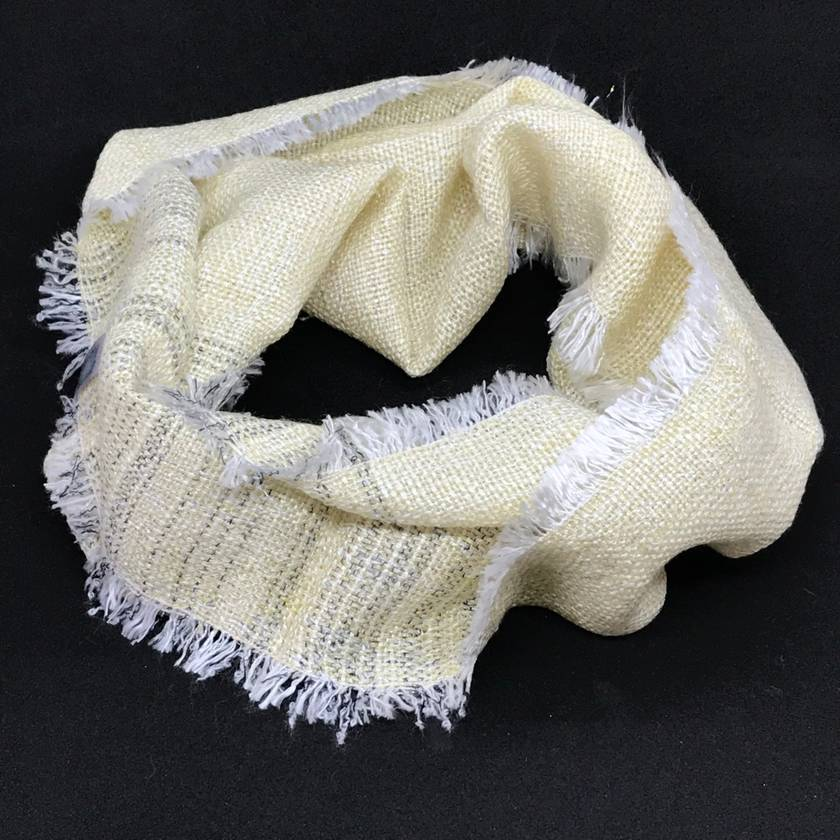 Summer Weight Loop Scarf - Gold