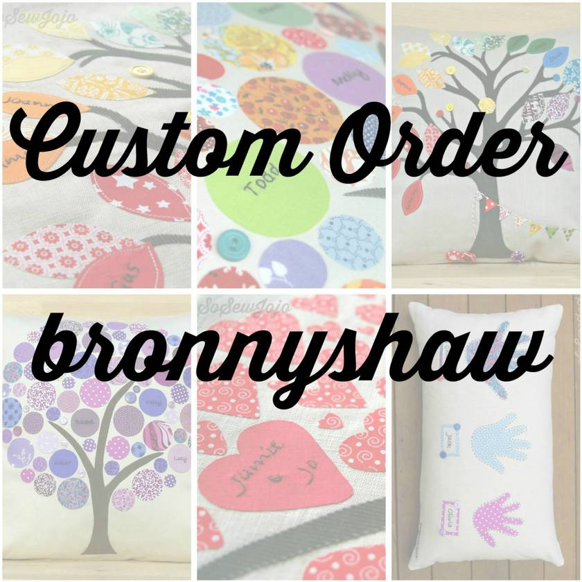 Custom Order for bonnyshaw
