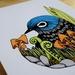 'Waxon' Fine Art A4 Print