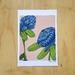 ' Buff Blush ' A4 Fine Art Print