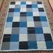ooak wool/cotton patchwork blanket