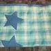 blue star cot blanket