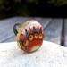 Floral Boho Wood Ring