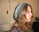 Women's hand-knitted slouch hats. One size fits all.  soft wool or wool/mix. Fashionable. Very classy.