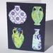 """""""Patterned Porcelain"""" Greeting Card"""