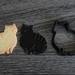 3D Printed Cookie Cutter&Stamp **Cat(Tabby)**