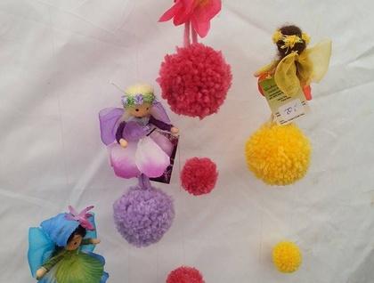 Pompom Fairy mobile