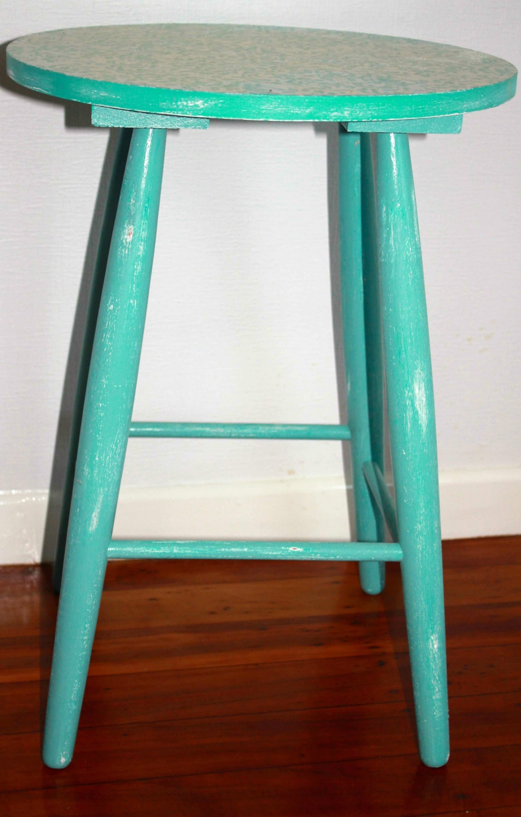 shabby chic stool felt. Black Bedroom Furniture Sets. Home Design Ideas
