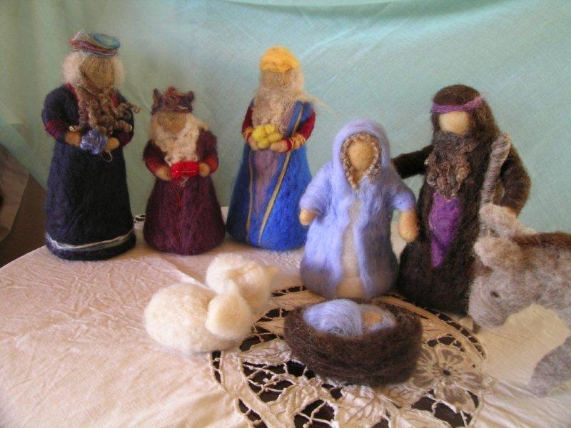 Nativity Scene Felt