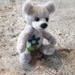 Needle felted Teddy Bear collectable sculpt