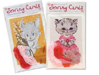 Learn to Stitch -Sewing Cards for Children