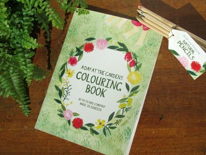 A Trip to the Gardens Colouring Book