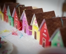 Die Cut Sweet House Treat Boxes