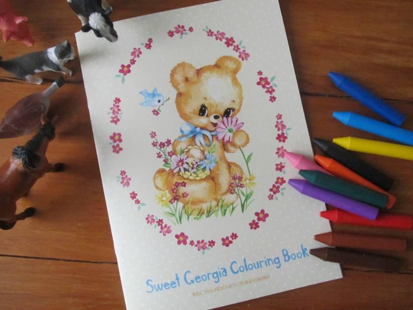Sweet Georgia! Colouring Book