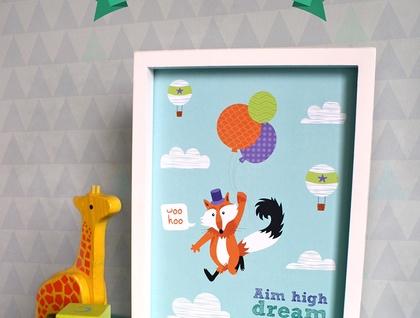 Flying Fox print