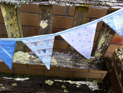 Bunting - Baby Blue