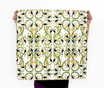 Reusable Fabric Gift Wrap - Tui & Kowhai