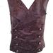 Crimson Steampunk unisex vest