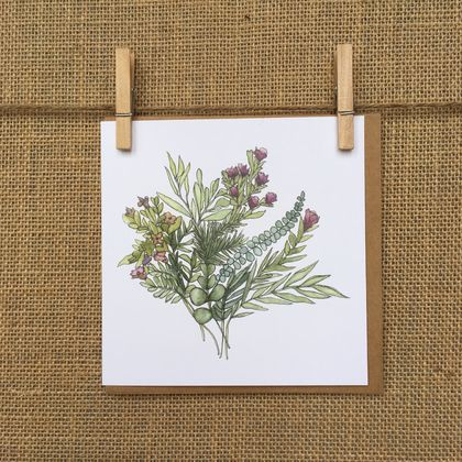 Floral Bunch Card