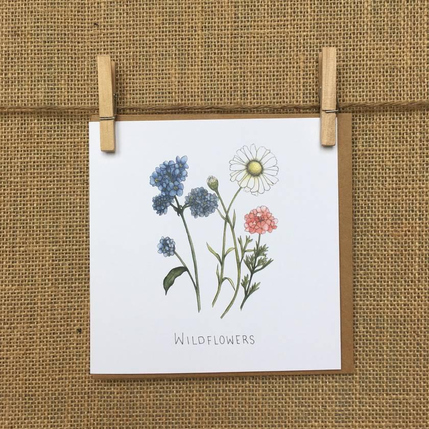Wildflowers Print A4