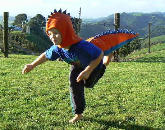 Dinosaur Costume Pdf Sewing Pattern Tutorial Easy To Sew Felt