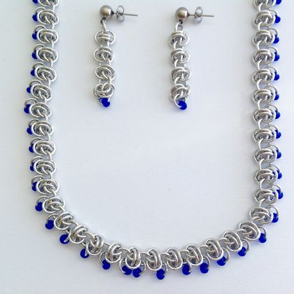 Necklace and Earring Set Handmade