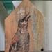 Saddleback house - original art on recycled timber!
