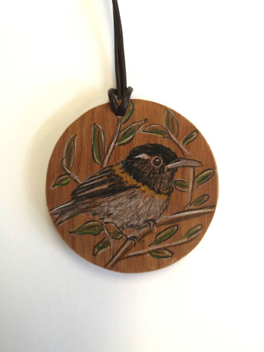 Hand drawn Hihi necklace