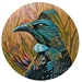 TUI IN FLAX ON TIMBER STYLE DECAL 280MM