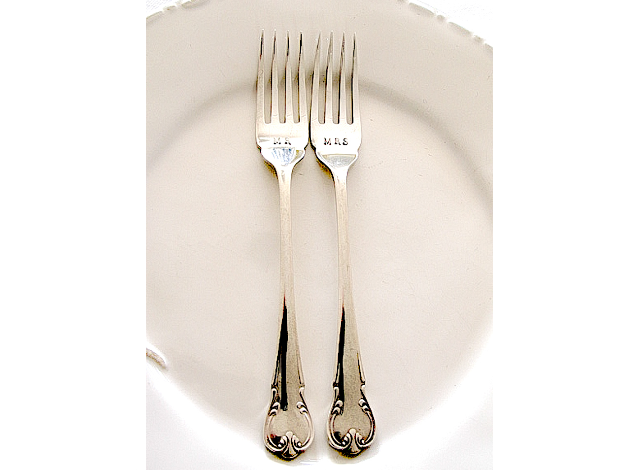 Unique Wedding Gifts Nz : Wedding vintage hand stamped silver plate cutlery Ashberry epns unique ...