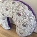 Nursing pillow cover Elephants