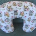 Nursing pillow cover Floral Woodland
