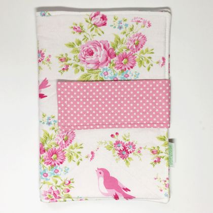 English Floral - Nappy Wallet