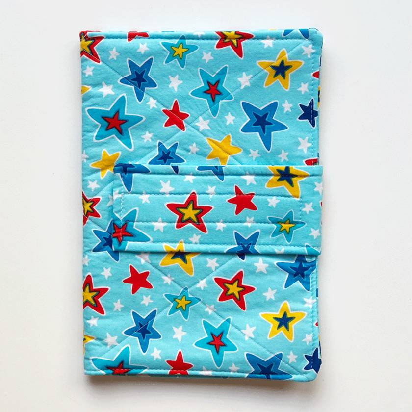 Nappy Wallet - Colourful Stars
