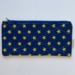 Cotton Quilted Zip Bags - Stars