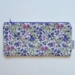 Cotton Quilted Zip Bags - Floral