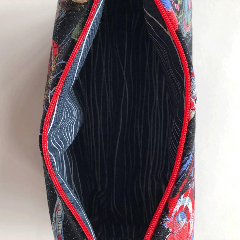 Superhero's-  Zipped Bags