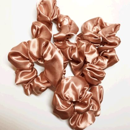 1 Satin  Scrunchie