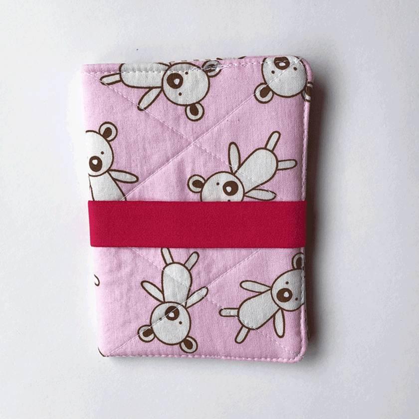 Passport Holder - Baby Pink