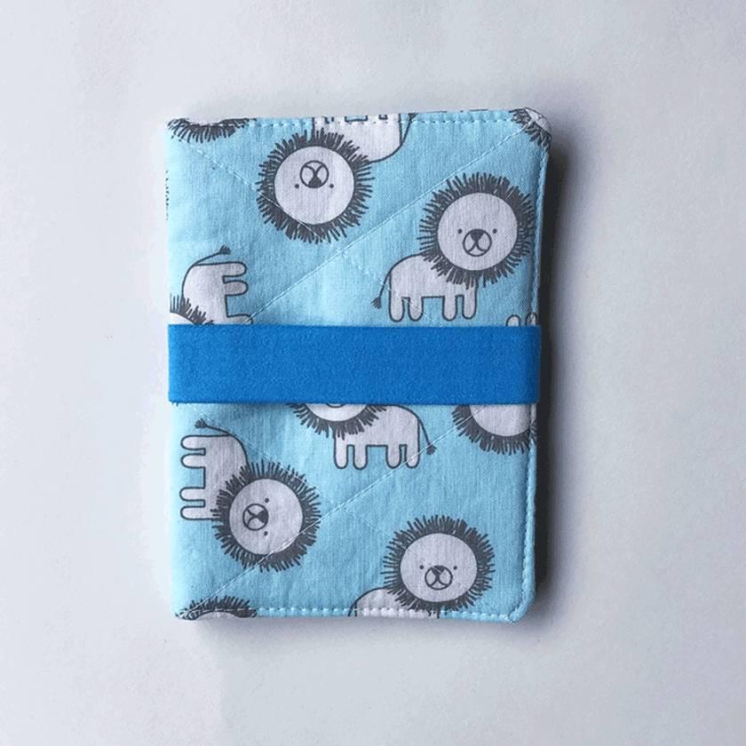 Passport Holder - Baby Blue