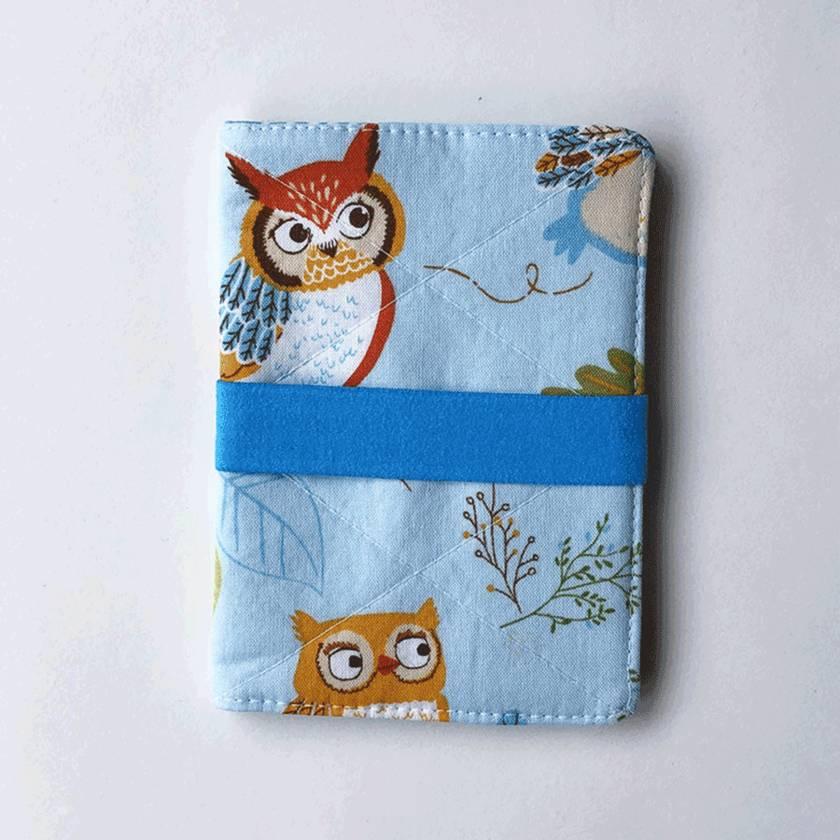 Passport Holder - Owls