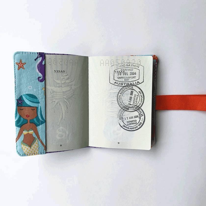 Passport Holder - Mermaid