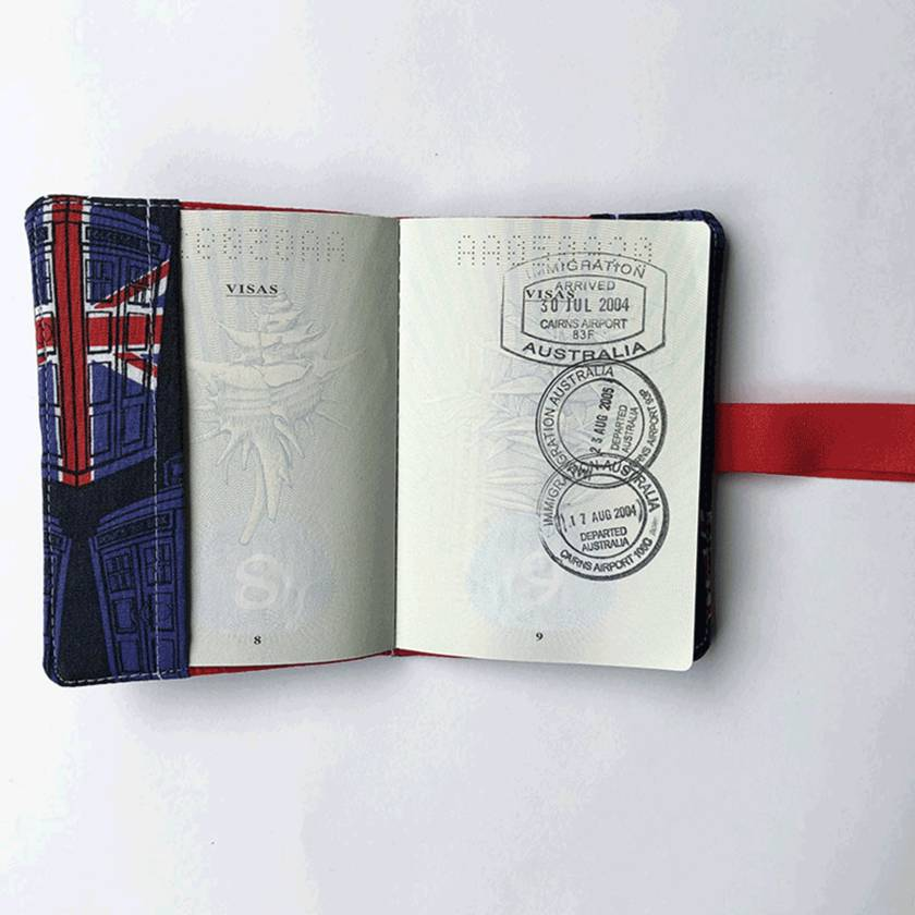 Passport Holder - Dr Who