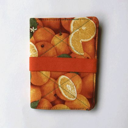 Passport Holder - Oranges