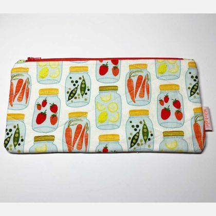 Veges~ Zip Case