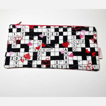Crosswords ~ Zip Case