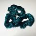 Velvet Scrunchies - Green